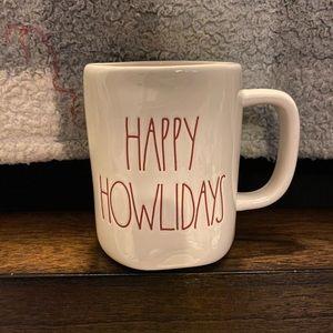 Rae Dunn • HAPPY HOWLIDAYS mug